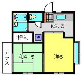 グレース羽黒2階Fの間取り画像