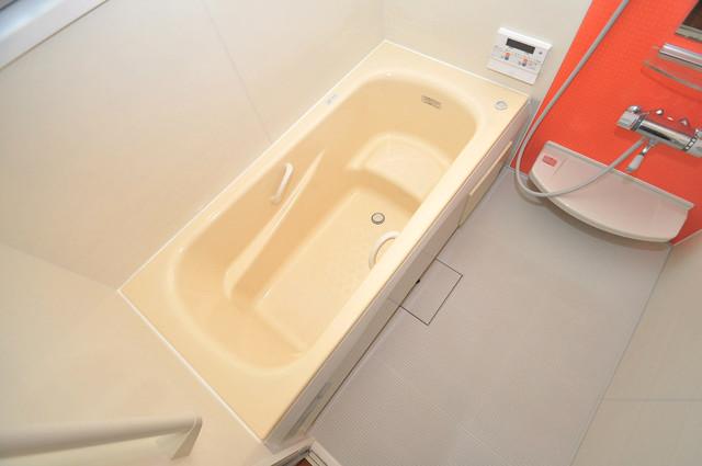 大蓮東1-22-30 貸家 広めのお風呂は一日の疲れを癒してくれます