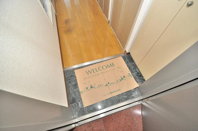 サンモール 素敵な玄関は毎朝あなたを元気に送りだしてくれますよ。