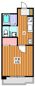 和光市駅 徒歩5分8階Fの間取り画像