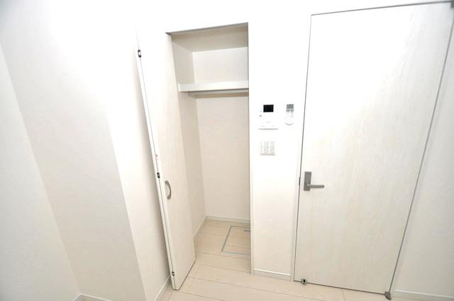 Valenti小阪 もちろん収納スペースも確保。いたれりつくせりのお部屋です。