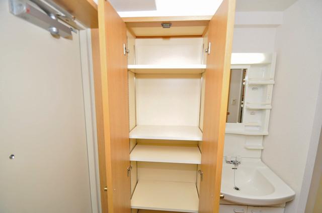 プリムヴェール 収納がたくさんあると、お部屋がすっきり片付きますね。