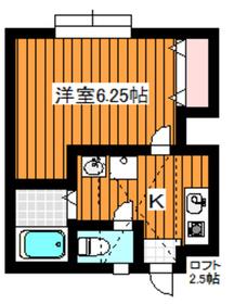 和光市駅 徒歩5分1階Fの間取り画像