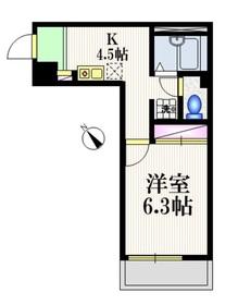江古田駅 徒歩2分3階Fの間取り画像