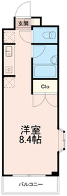 エスアイコーポエー(エスアイコーポA)2階Fの間取り画像