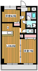 新高島平駅 徒歩15分5階Fの間取り画像
