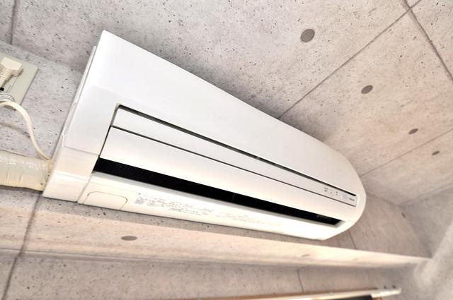 ヴィラサンライフ エアコンがあるのはうれしいですね。ちょっぴり得した気分。