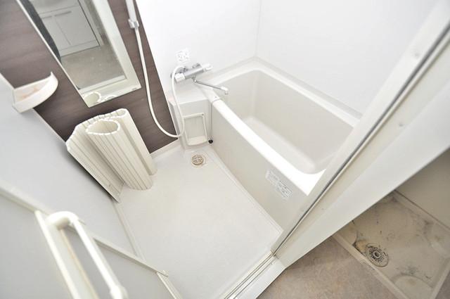 ルミエール・フジ ゆったりと入るなら、やっぱりトイレとは別々が嬉しいですよね。
