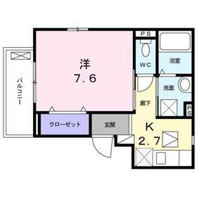 相模大塚駅 徒歩5分1階Fの間取り画像