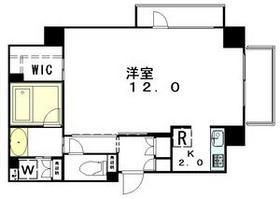 アトラス江戸川アパートメント2階Fの間取り画像