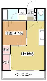 トキワビル3階Fの間取り画像