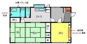上大岡駅 徒歩9分1階Fの間取り画像