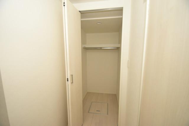 ハーモニーテラス西堤楠町 もちろん収納スペースも確保。いたれりつくせりのお部屋です。