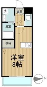 アルモニー2階Fの間取り画像