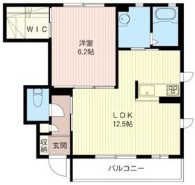 シャーメゾン志村1階Fの間取り画像