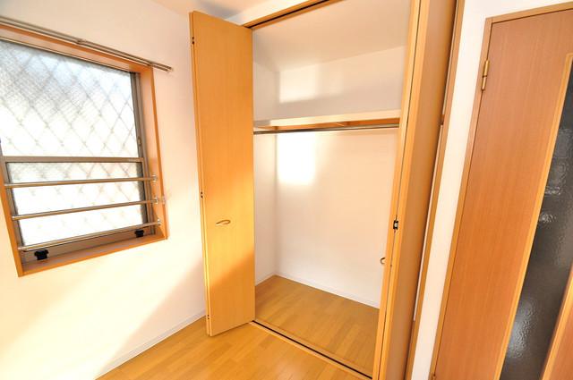 フレンテ田中 もちろん収納スペースも確保。おかげでお部屋の中がスッキリ。