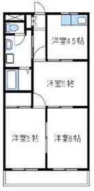 ロイヤルメゾン高森5階Fの間取り画像