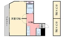 ヴィンテージ2階Fの間取り画像