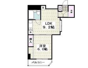 ペルソナージュ横浜2階Fの間取り画像