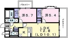 レフィナード2階Fの間取り画像