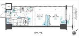 フェニックス新横濱クアトロ9階Fの間取り画像