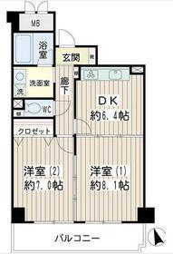 片倉町駅 徒歩22分1階Fの間取り画像