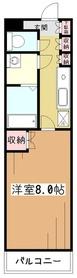 パルクサイド3階Fの間取り画像