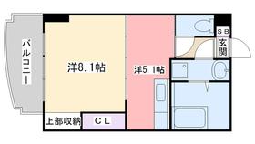 エリタージュ3階Fの間取り画像