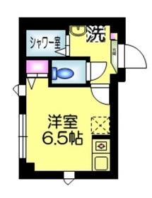仮 平井Kマンション3階Fの間取り画像