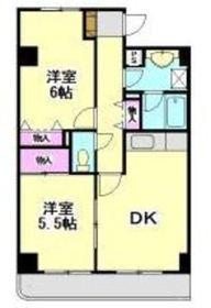 エステハイム横浜2階Fの間取り画像