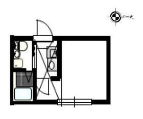 アリエッタ西横浜1階Fの間取り画像