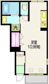 リヒトハイム1階Fの間取り画像