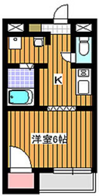 地下鉄成増駅 徒歩11分間取図