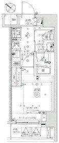 イアース横濱関内4階Fの間取り画像