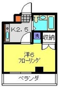 上星川駅 徒歩5分4階Fの間取り画像