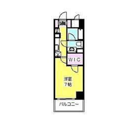 フィーノ武蔵小杉2階Fの間取り画像