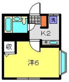高津駅 徒歩36分1階Fの間取り画像