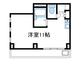 ライトコスモ3階Fの間取り画像