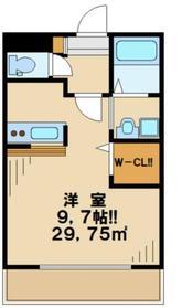 ラフィーネ2階Fの間取り画像