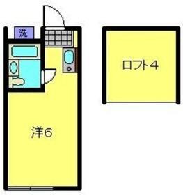 新横浜駅 徒歩11分2階Fの間取り画像