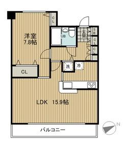 LOOP-M13階Fの間取り画像