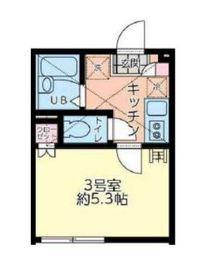 リーヴェルポート横浜南アジュール2階Fの間取り画像