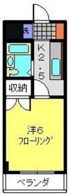 日吉駅 徒歩10分4階Fの間取り画像