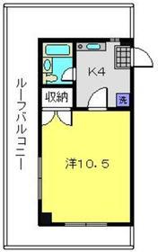 テラス鶴ヶ峰3階Fの間取り画像