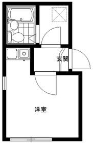リブ墨田1階Fの間取り画像