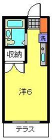 コテージ戸塚1階Fの間取り画像