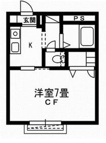 スキップハウス1階Fの間取り画像