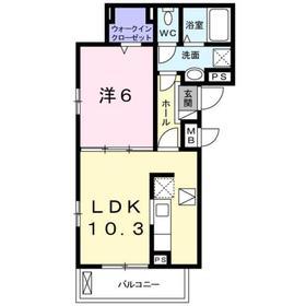 横須賀中央駅 バス26分「縦貫道下」徒歩2分1階Fの間取り画像