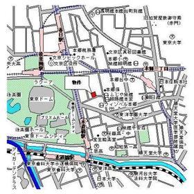 パークキューブ本郷案内図