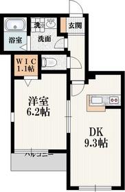 祖師ヶ谷大蔵駅 徒歩17分1階Fの間取り画像
